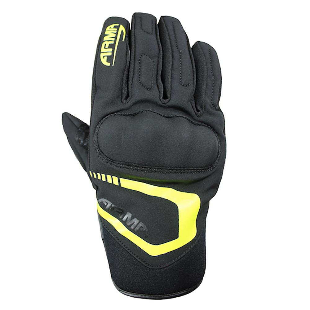 ARMR Tsuma WP (SHWP940) Glove - Black & Fluo Yellow