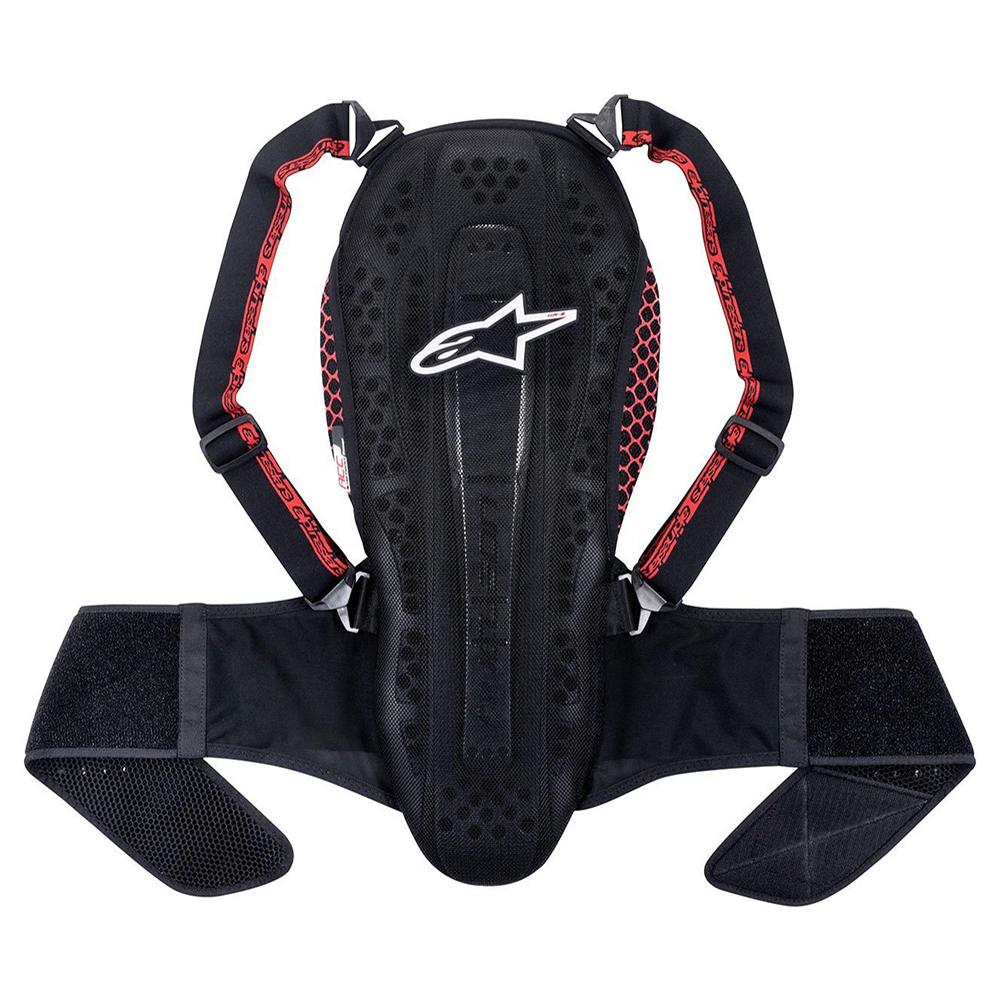 Alpinestars Nucleon Kr-2 Smoke Black & Red