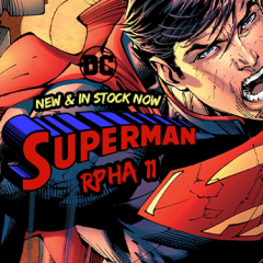 It's a bird... It's a plane... It's the new HJC RPHA 11 Superman helmet!