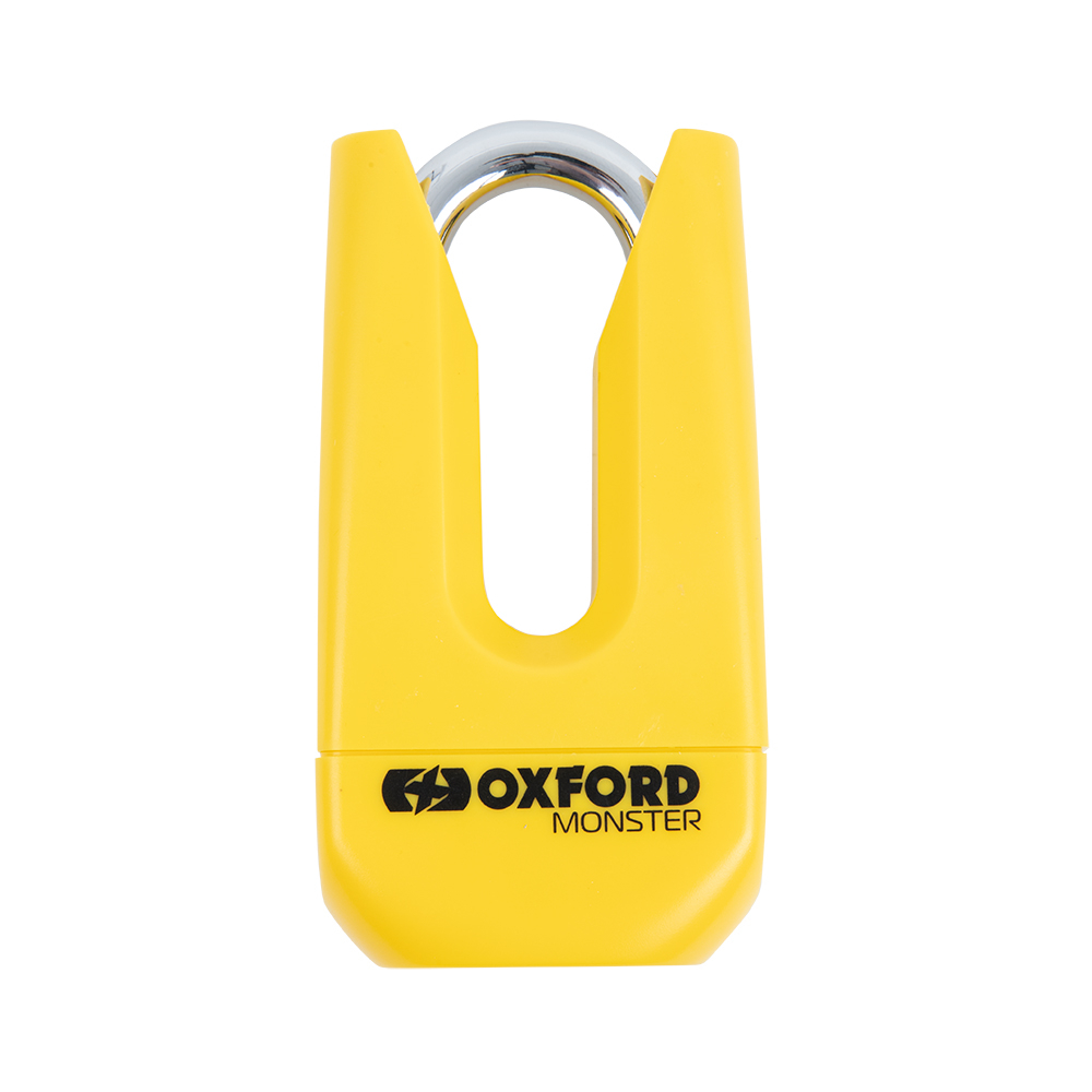 Oxford Monster 11mm Disc Lock Yellow
