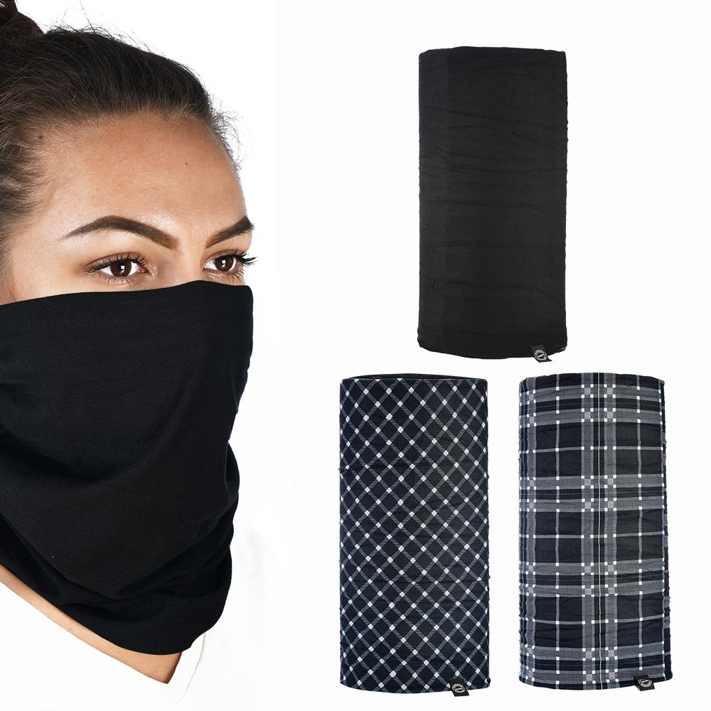 Oxford Comfy Black&White Tartan 3-Pack
