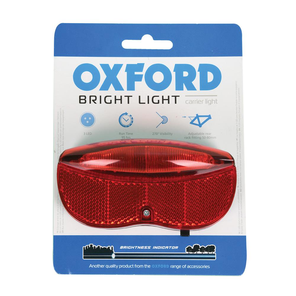 Oxford Bright Light Carrier LED Rear Bike Light
