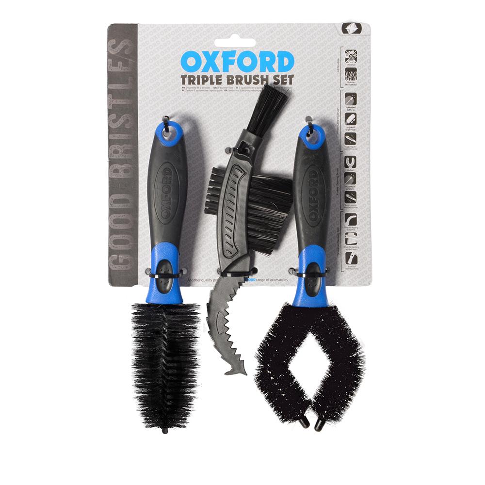 Oxford Triple Brush Set