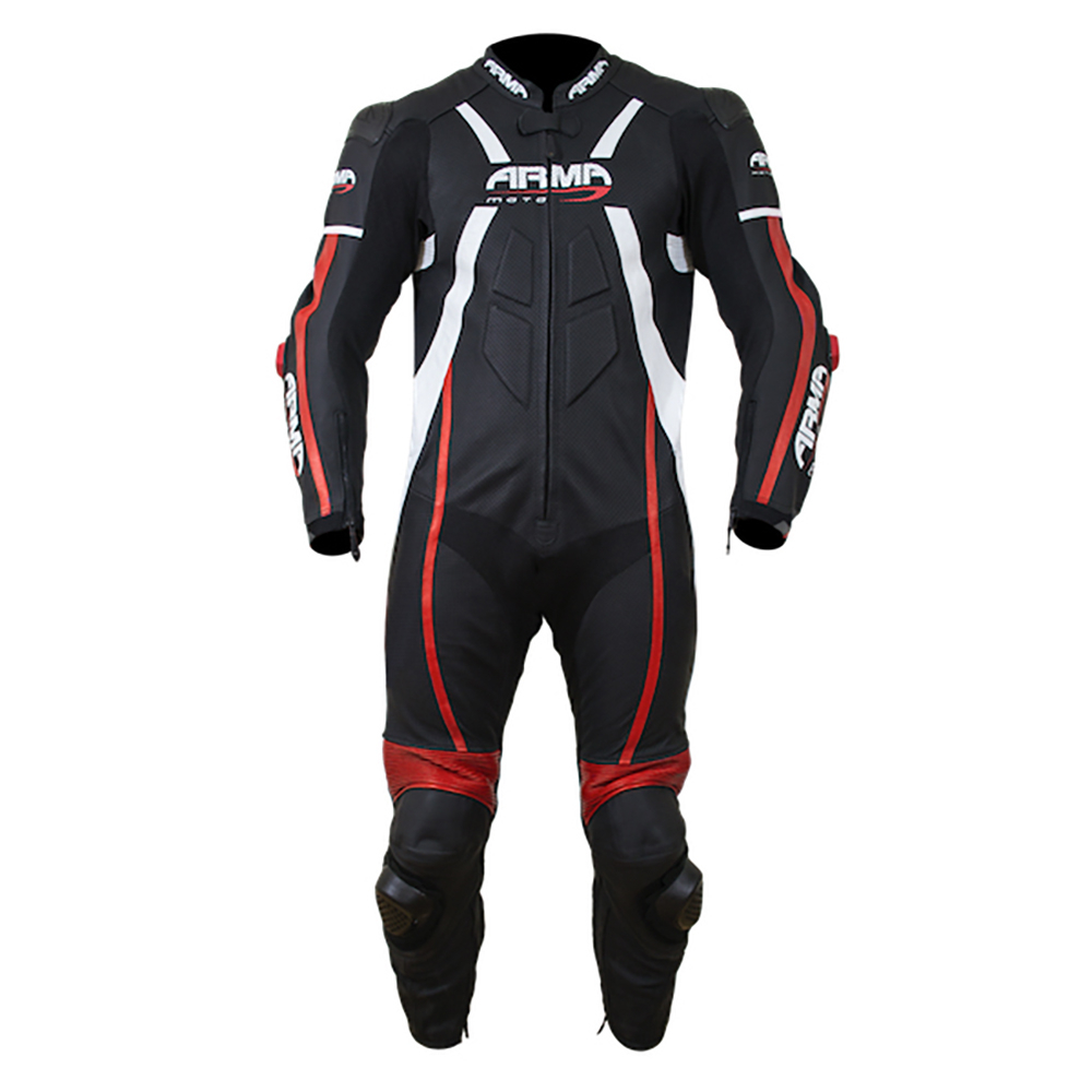 ARMR Harada R 2020 Race Suit - White & Red