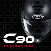 HJC's New Flip-Front C-90 - In Stock Now