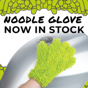 Noodle Wash Glove - New and In Stock!