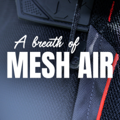 A breath of mesh air, in stock now for summer!