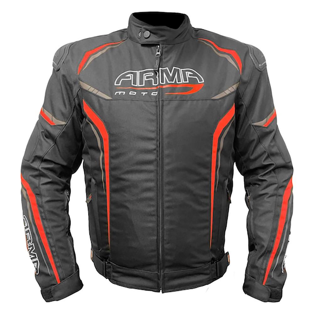 ARMR Harada R Textile Jacket - Black & Red