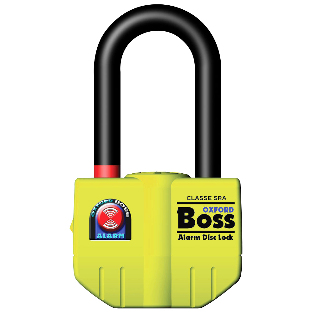 OXFORD 16mm BOSS DISC LOCK Ultra Strong ALARM OF4 Thatcham App **SALE**