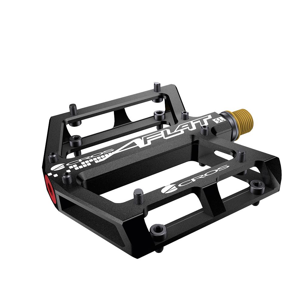 Acros A-Flat SL Titanium Pedals - Black