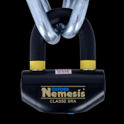 Nemesis chain and padlock in stock now!