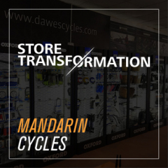 Store Transformation - Mandarin Cycles