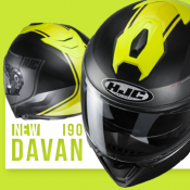 HJC i90 Davan and Plain - in stock now!