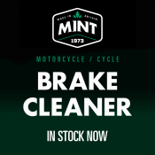 Mint Brake Cleaner - Now In Stock!